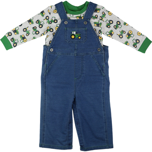 Tractor Denim Overall Set