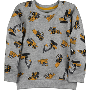 Construction Crewneck Fleece Pullover