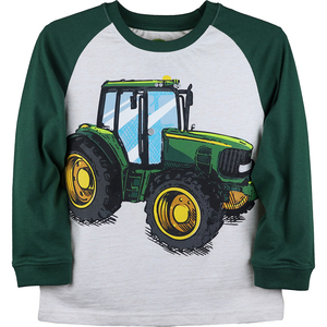 Large Tractor Long Sleeve T-Shirt