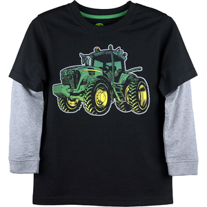 Gradient Tractor Long Sleeve T-Shirt
