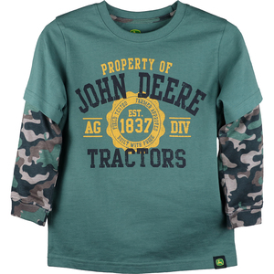 Property Of John Deere Tractors With Camo Sleeves