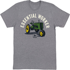 Charcoal Essential Worker T-Shirt