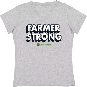 Oxford Farmer Strong V-Neck T-Shirt
