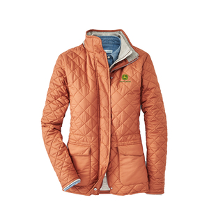 Peter Millar Women's Blakely Quilted Travel Coat - Copper
