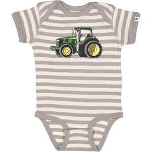 Do Good Today - Striped Tractor Bodyshirt