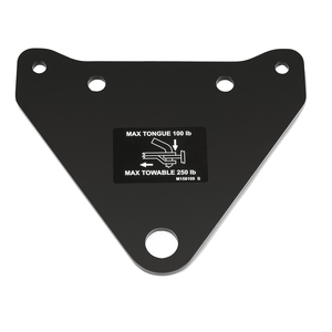 Rear hitch For Z500 Zero Turn Mowers