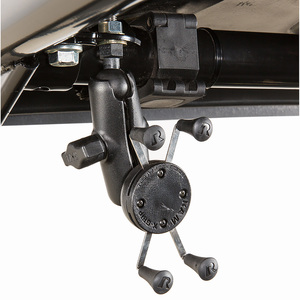 Cell Phone Mount Bracket For Compact Utility Tractors and Gator Utility Vehicles