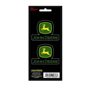 John Deere Stacked Logo Decals