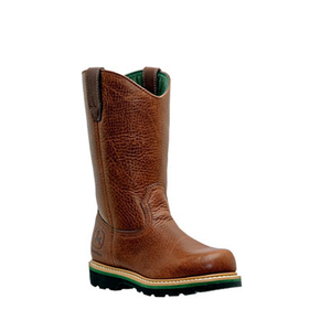 Men's 11 Inch Non-Safety John Deere Work Wellngton Boot