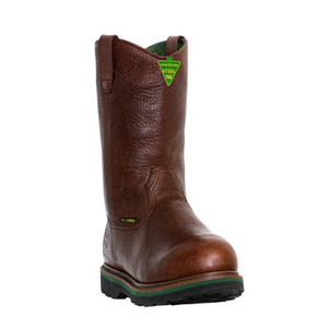 Men's 11 Inch Steel-Toe Wellington Boots with Met Guard