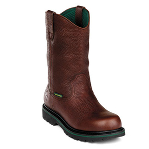 Men's 10 Inch Steel-Toe Waterproof Wellington Boot