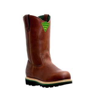 Men's 11 Inch Work Steel-Toe Wellington Boots