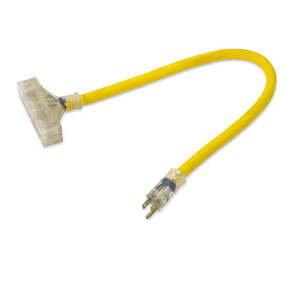 2' Extension Cord - 12 Gauge (ET-1109-J)