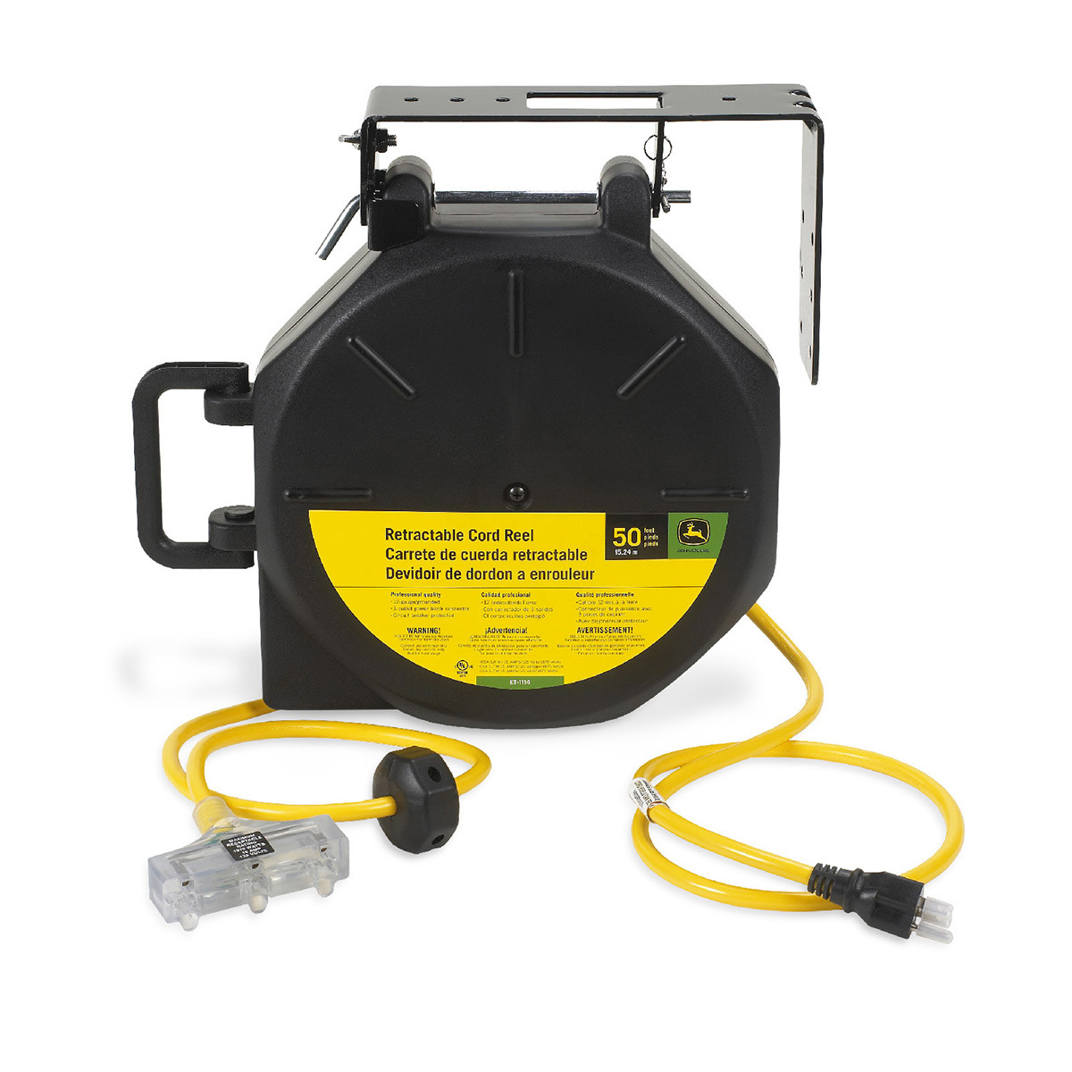 Air Compressors Home Workshop Products John Deere Us >> 50 Retractable Cord Reel 12 Gauge Et 1114 J