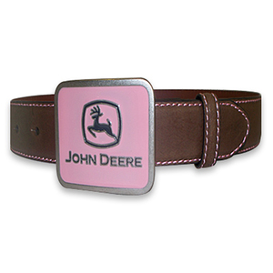 Girl's Pink and Brown Rhinestone Belt