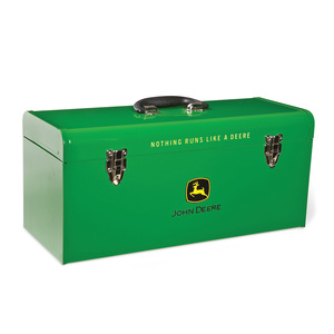 Green Hand Carry 20-in Toolbox with Tray (HR-20HB-1)