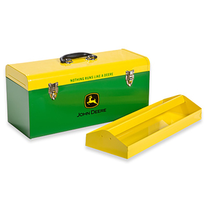 Green and Yellow Hand Carry 20-in Toolbox with Tray (HR-20HB-2)