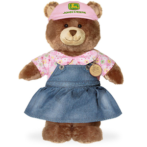 John Deere Girl Bear from Build-A-Bear