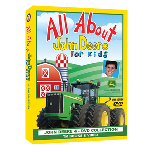 All About John Deere for Kids DVD Box Set