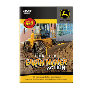 Earth Mover Action for kids DVD