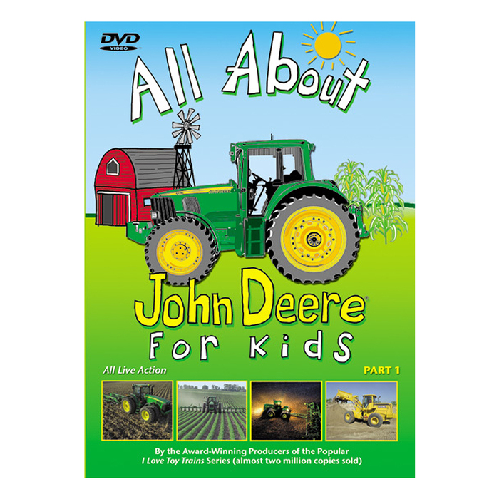All About John Deere for Kids DVD PART I