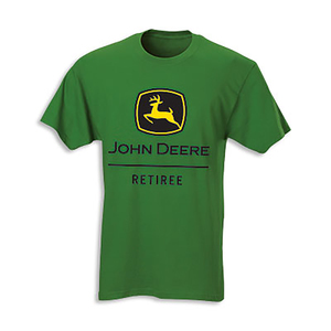 "John Deere Mens ""Retiree"" T-Shirt"