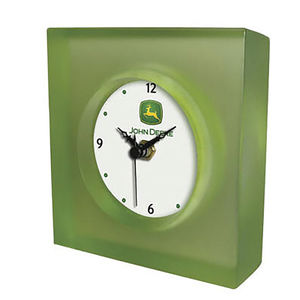 John Deere Translucent Desk Clock