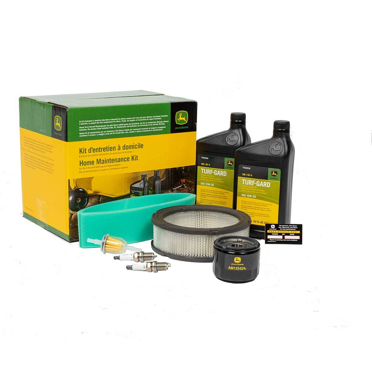 Air Compressors Home Workshop Products John Deere Us >> Home Maintenance Kit For Gt Lt Lx And Sst Series