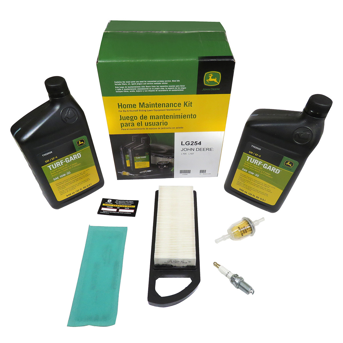Home Maintenance Kit for 105 or 107
