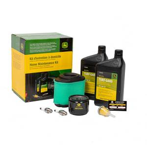 Home Maintenance Kit For LA, D, and Z Series Riding Mowers