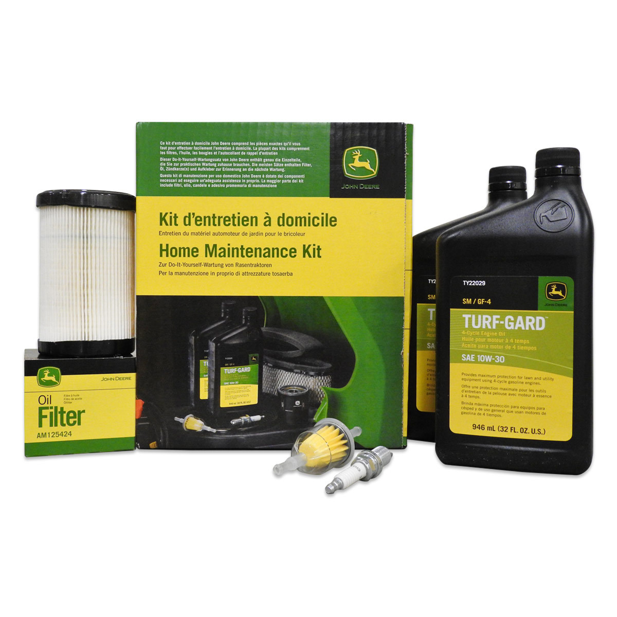 Home Maintenance Kit for D and E Series Riding Mowers on