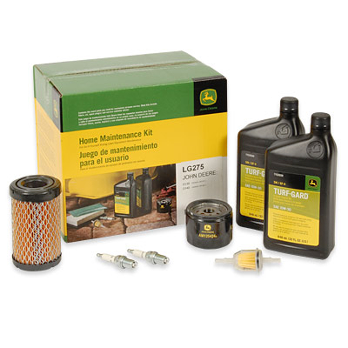 Home Maintenance Kit for D and E Series Riding Mowers