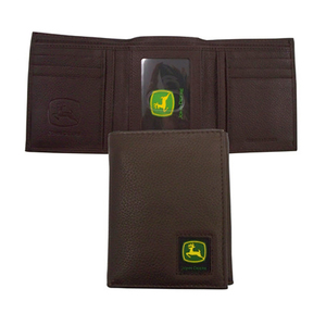 Tri-fold Wallet with Logo Patch
