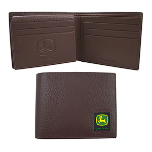 Bi-fold Wallet with Logo Patch