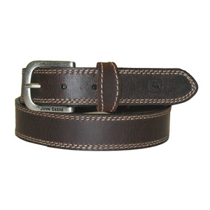 Boy's Contrast Stitch Leather Belt
