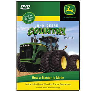 John Deere Country DVD - How Makes Tractors - Part 3