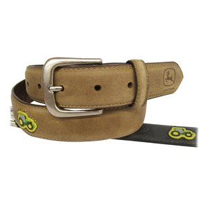 Boys Tractor Patch Belt