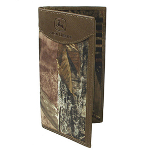 Real Tree Camo Checkbook With Leather Trim