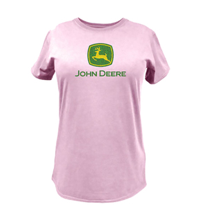 Women's Classic Pink Fitted T-Shirt