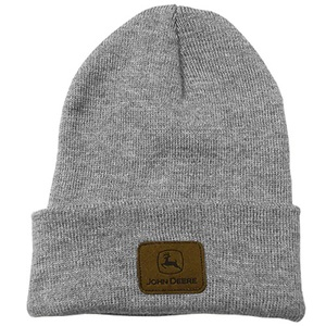 Oxford Gray Beanie With Patch