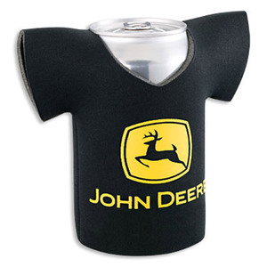 John Deere Black Construction & Forestry Jersey Coolie