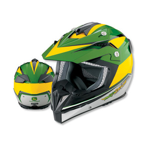Vega Flyte Green and Yellow Helmet 2X Large