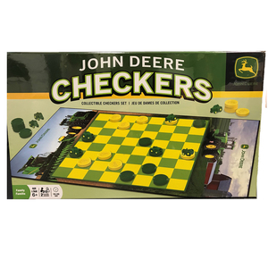 Checker Collectors Game Set