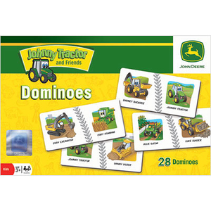 Johnny Tractor Dominoes Game