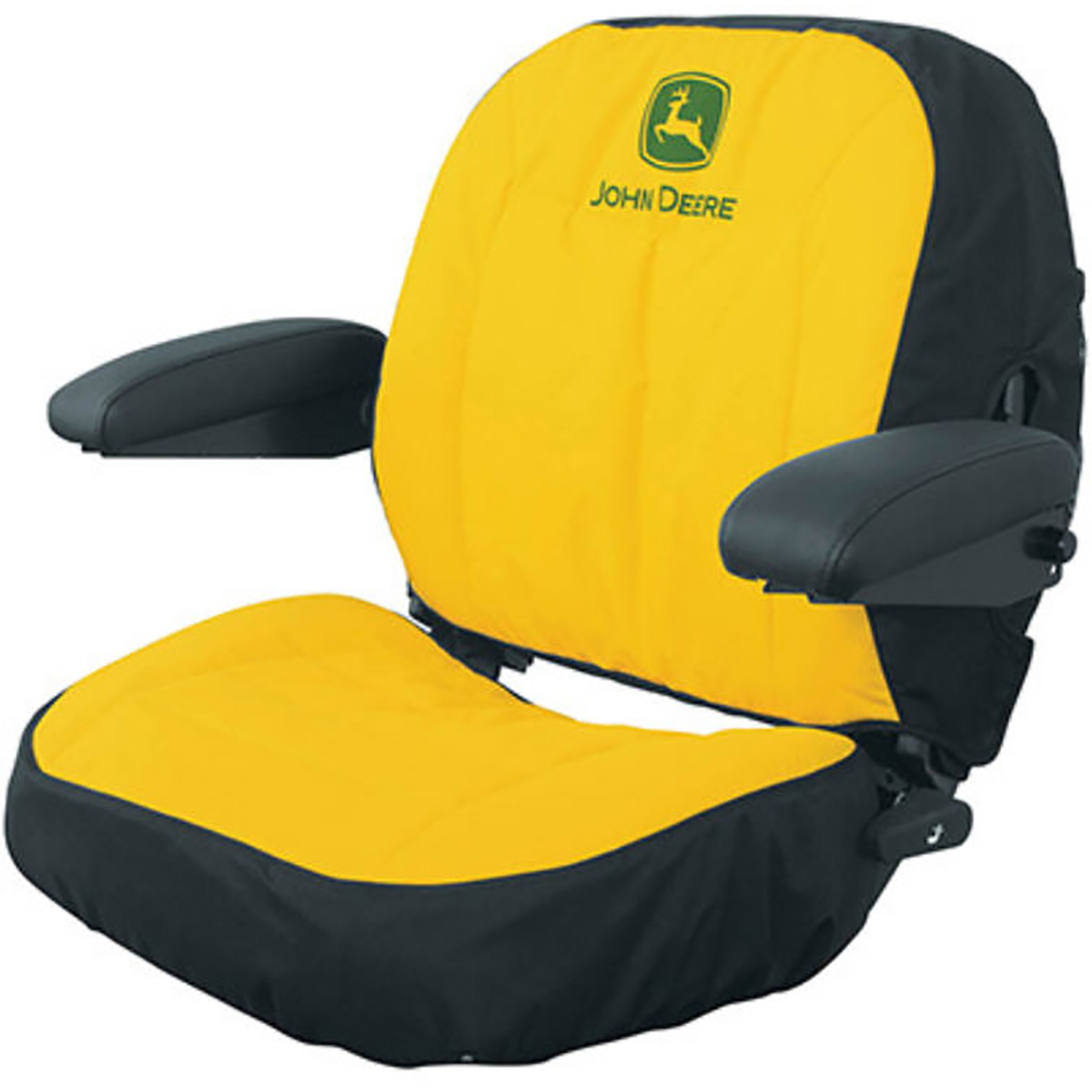 Designed For Specific Size Tractor Seats Lawn Garden Cushioned Seat Back Storage Pockets Zippered Pocket Adds A