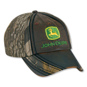 Camouflage Leather Coated Cap
