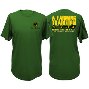John Deere 'Farming Tradition' Tee In Green