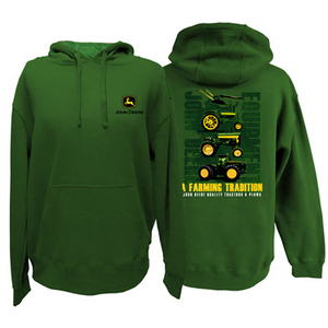 Mens Hooded Sweatshirt - A Farming Tradition
