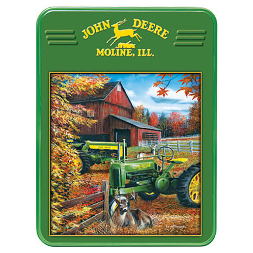 Deere Family 1000 Puzzle Piece Tin