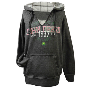 Property of John Deere Women's Hooded Sweatshirt